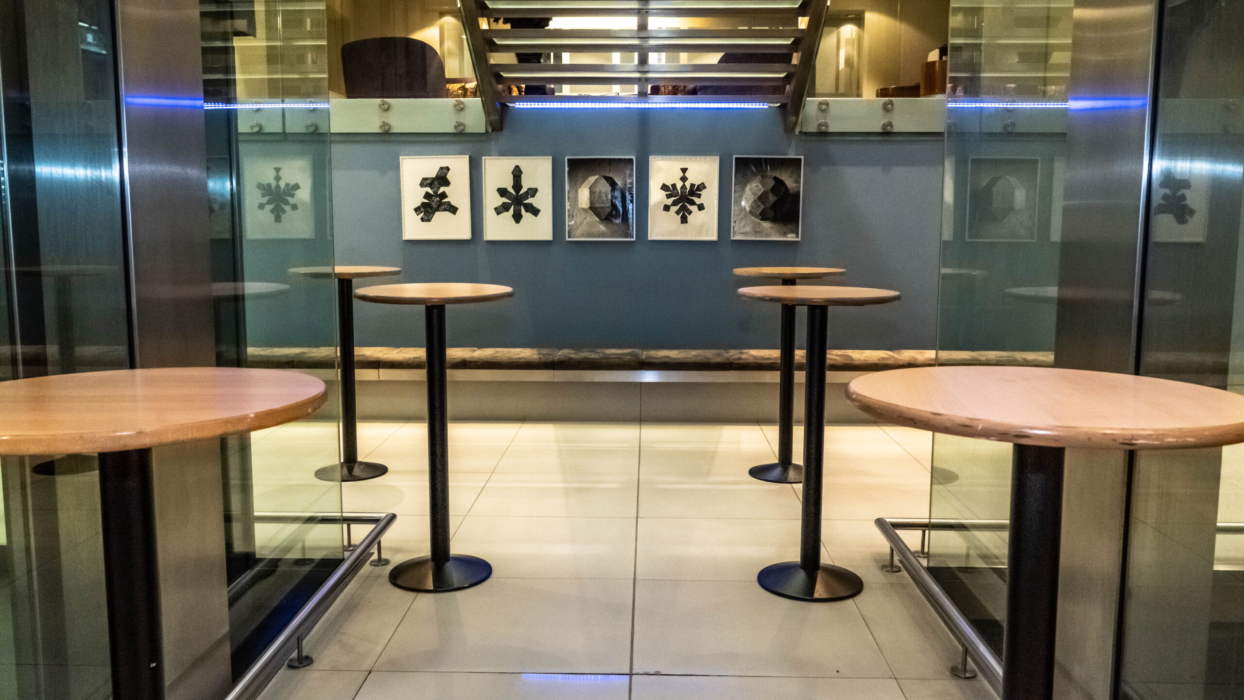 Empty reception area