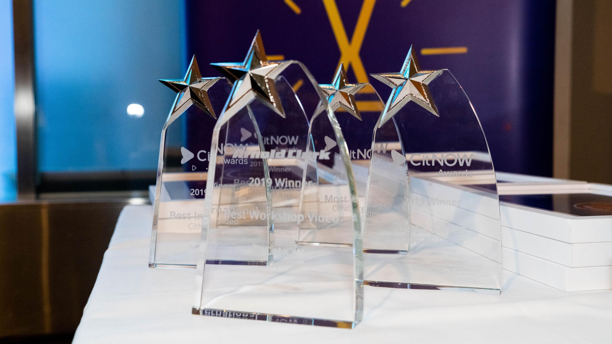 CitNOW Awards Trophies