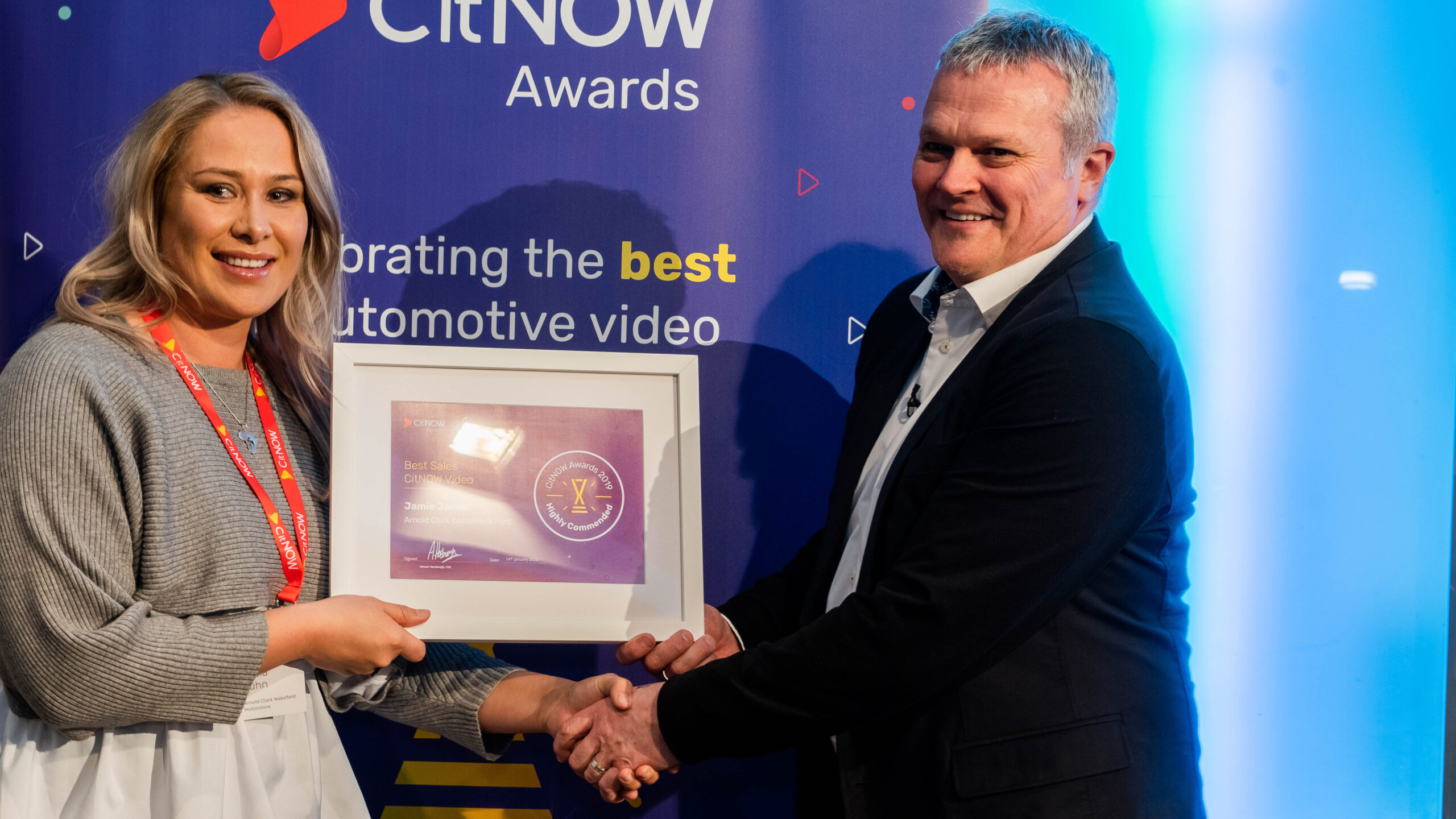 Best CitNOW Sales Video being presented by Alistair