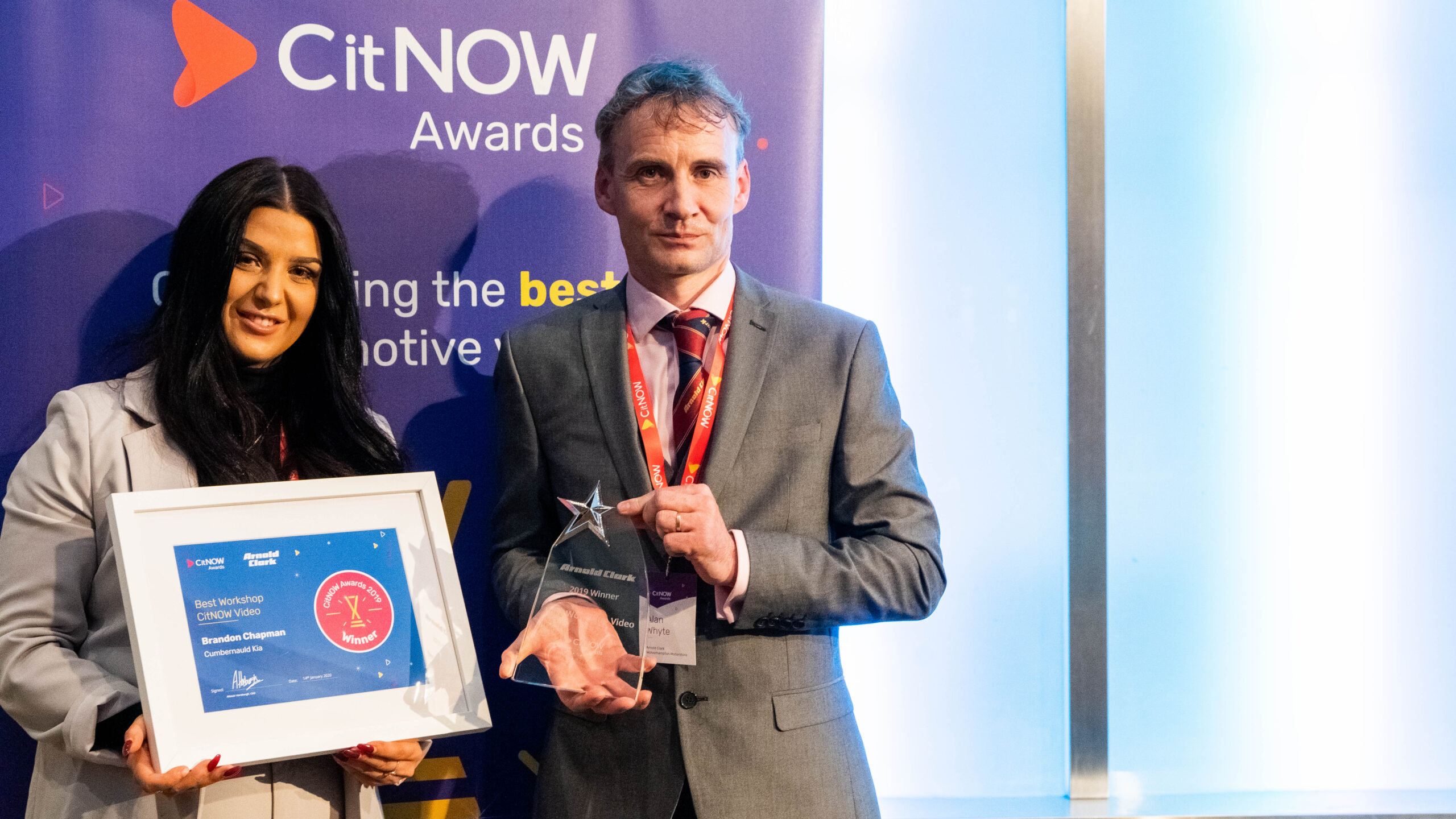 Arnold Clark, Best Workshop CitNOW