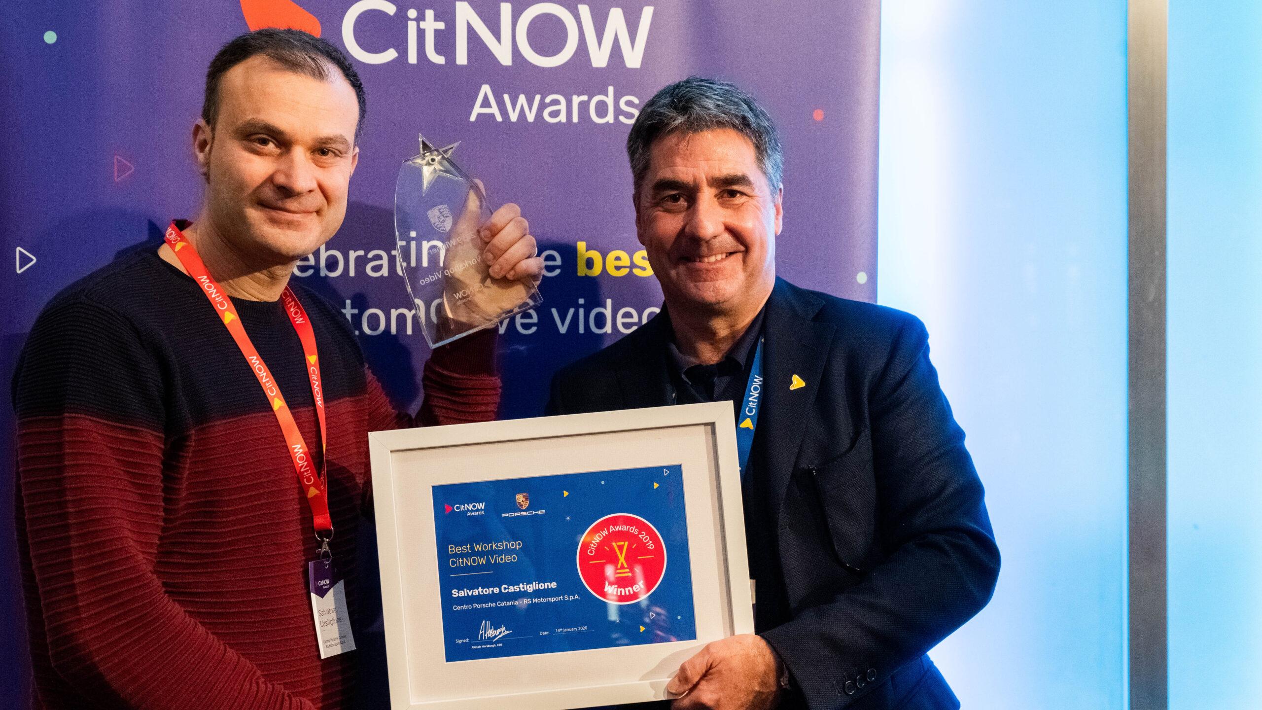 Salvatore Castigilione, Best Workshop CitNOW