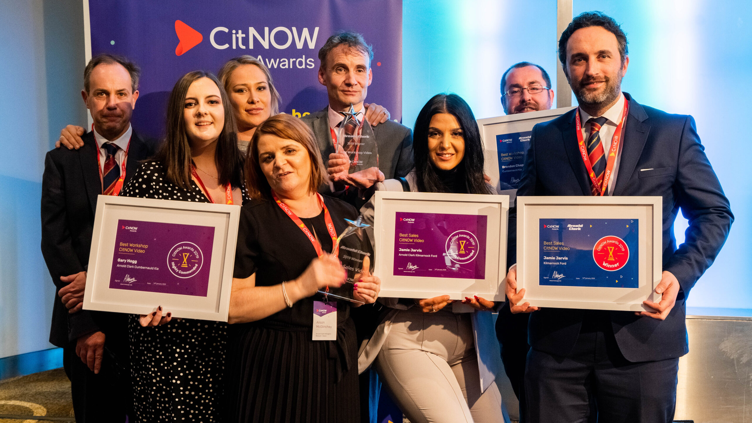 Awards Winners Group photo